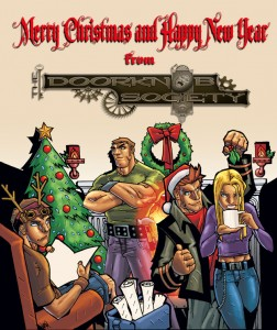 Merry Christmad and Happy New year from the Doorknob Society