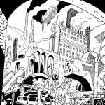 Steampunk or Dieselpunk of the Doorknob Society Saga.
