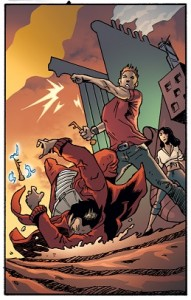 Comic Book Update, James Nightshade of the Skeleton Key Guild.
