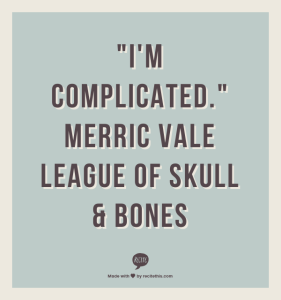 Who is Merric Vale?