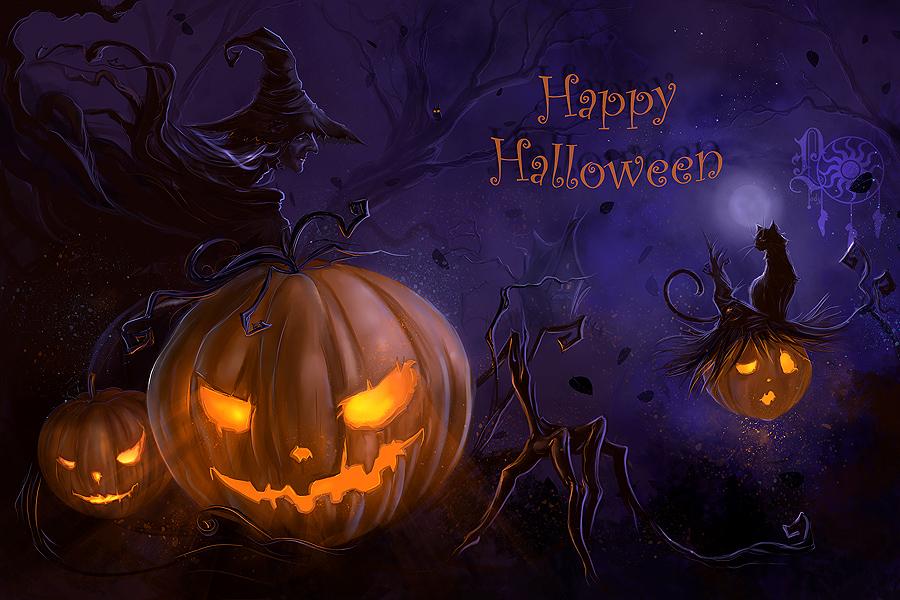 Happy Halloween | MJ Fletcher