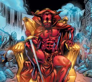 Mephisto, marvel, Doctor Strange Villain, The Doorknob Society, MJ Fletcher
