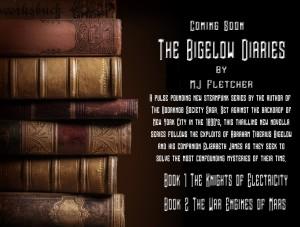 The Bigelow Diaries, steampunk novella, MJ Fletcher