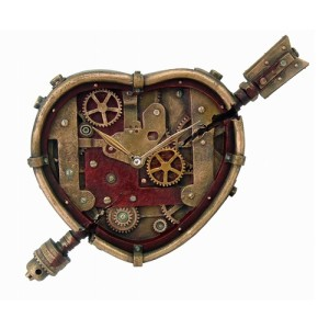 Steampunk happy valentines day
